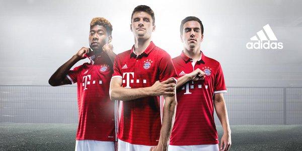 Bayern Munich 2016-17 home kit