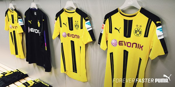 Borussia Dortmund 2016-17 home kit