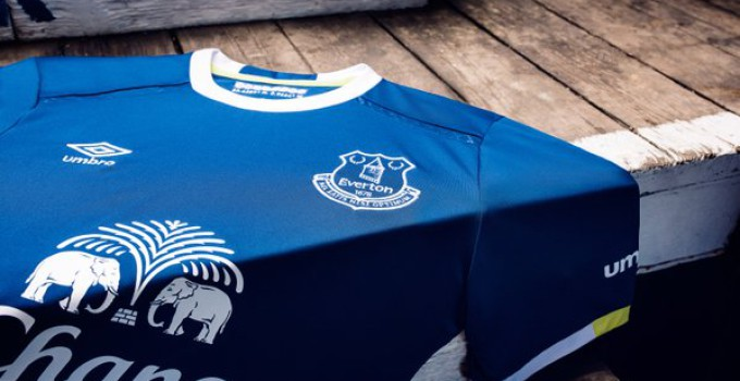 Everton 2016-17 home kit