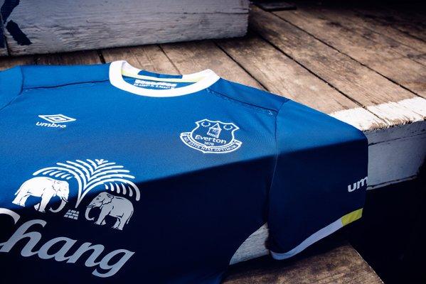 Everton 2016-17 home kit