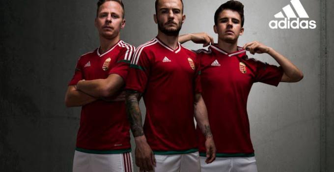 Hungary Euro 2016 Home Kit