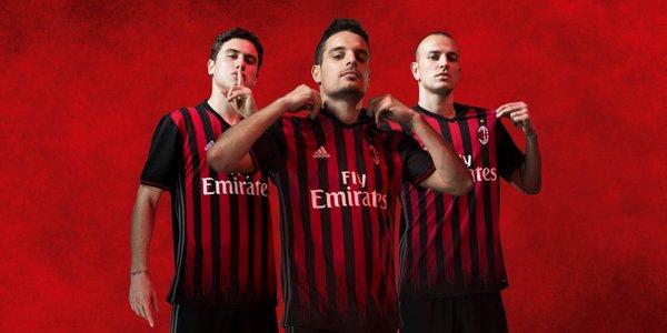 AC Milan 2016-17 home kit
