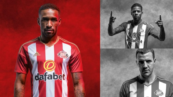 Sunderland 2016-17 Home Kit