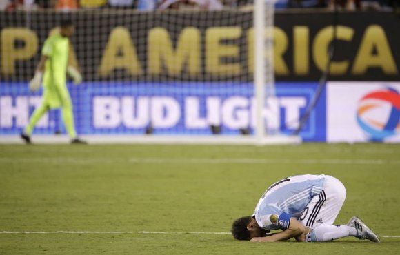 Messi was left in tears as Argentina now have lost six straight major tournament finals.