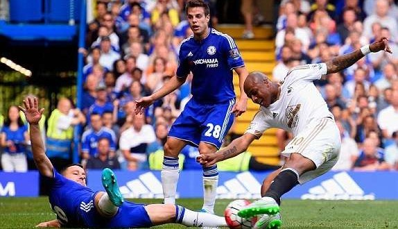 Andrew Ayew vs Chelsea
