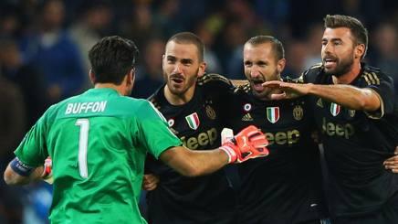 Juventus back 4