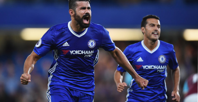 Chelsea 2-1 West Ham United