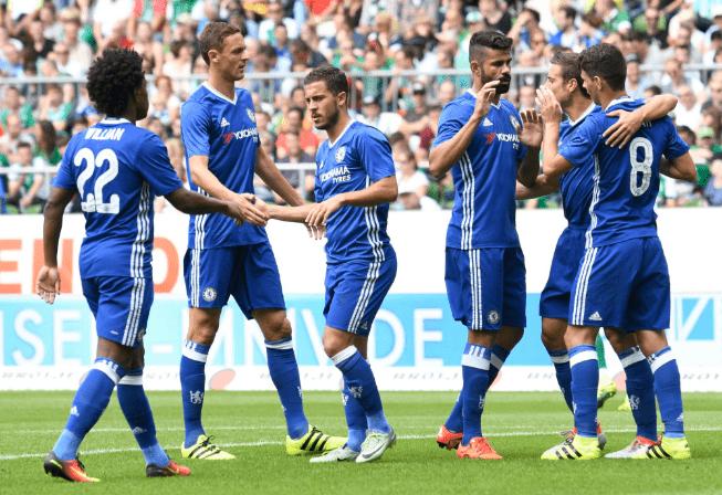 Chelsea vs Bremen 3