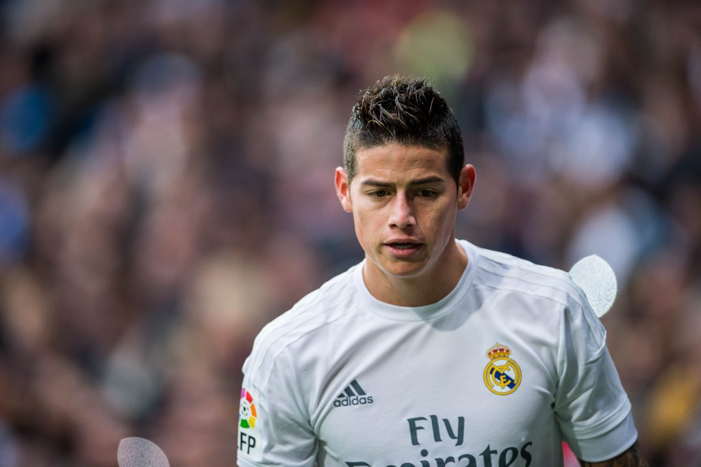 Everton and Wolves seeking to lure James Rodriguez to the Premier League 3