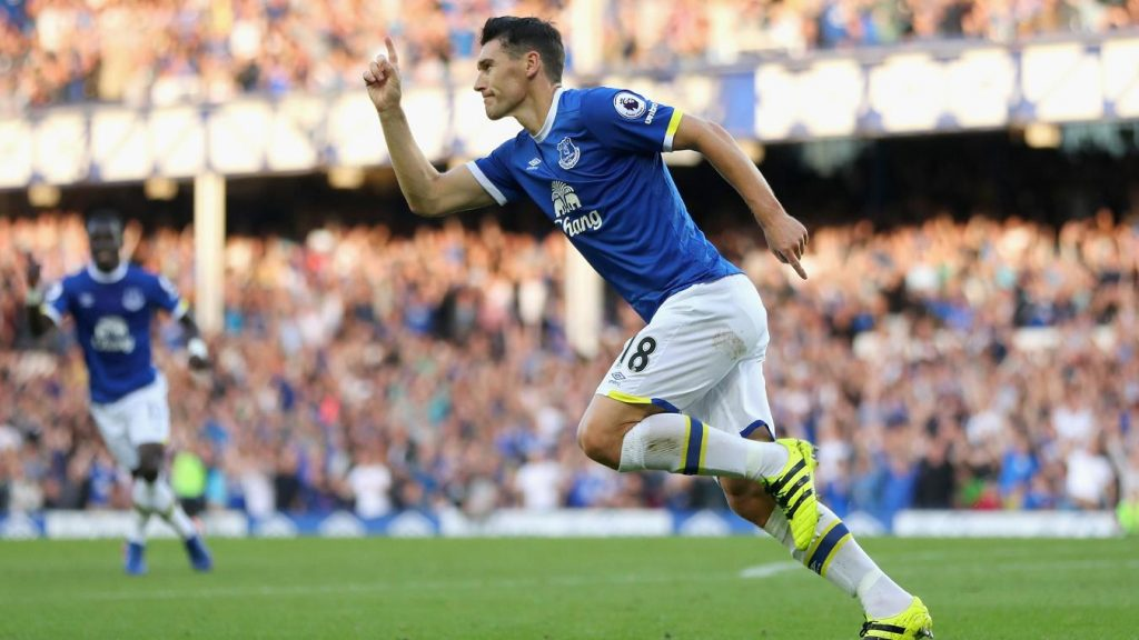 Barry scored on his 600th Premier League appearance in Everton's win over Boro.