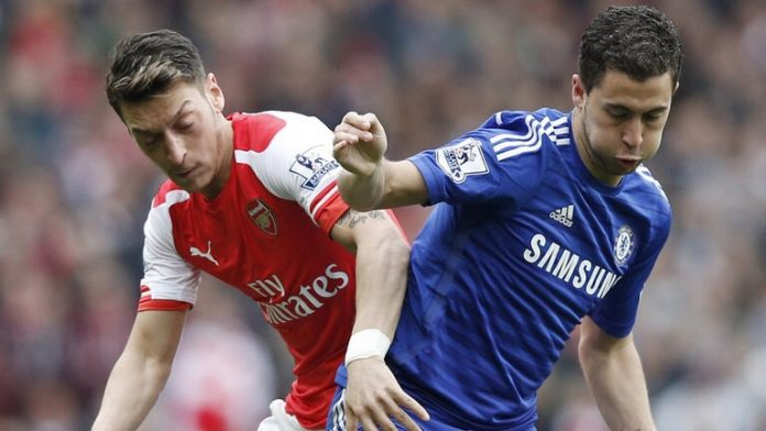Mesut Ozil and Eden Hazard are key players for their respective sides