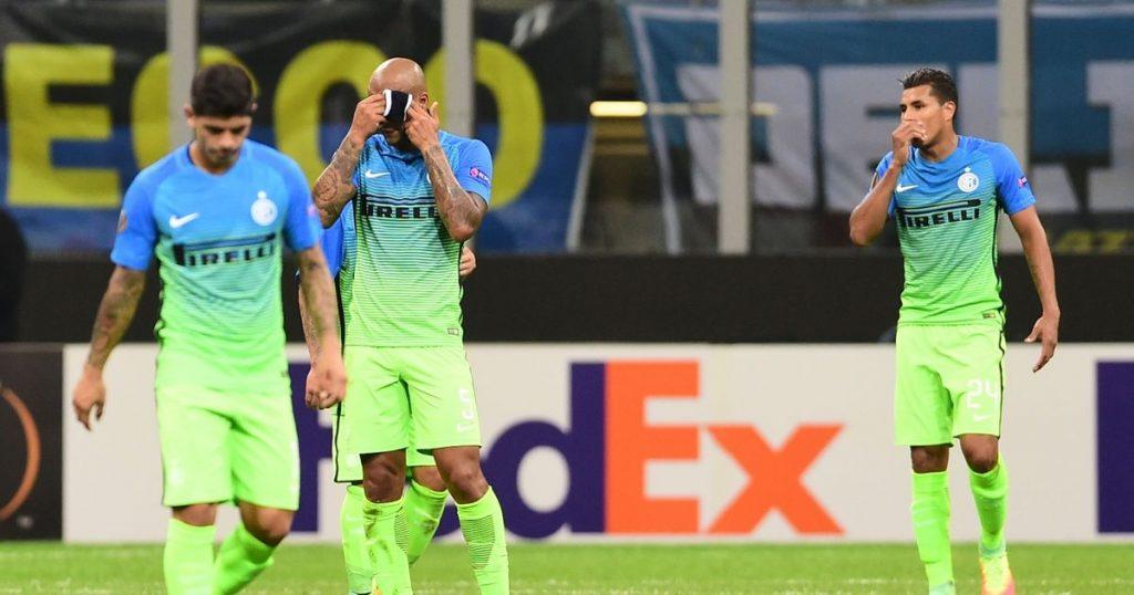 Frank de Boer's Inter were humbled at home.