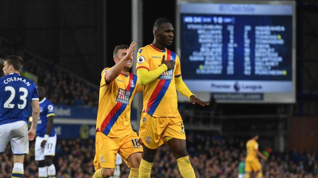 Christian Benteke scored his third Premier League goal for Palace last night.