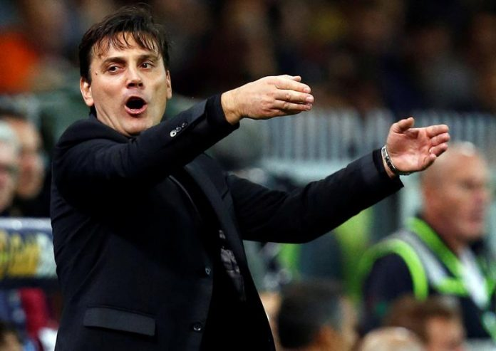 Montella is building a young team at Milan.