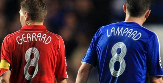 Frank Lampard vs Steven Gerrard