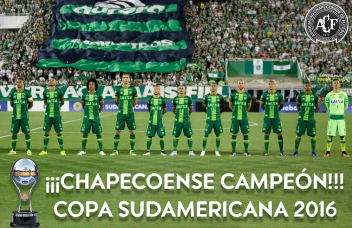 Chapecoense Copa Sudamericana champions