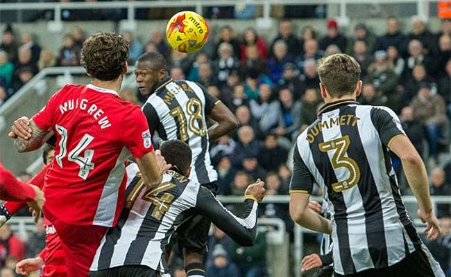 Newcastle United 0-1 Blackburn Rovers Credit - The Mag