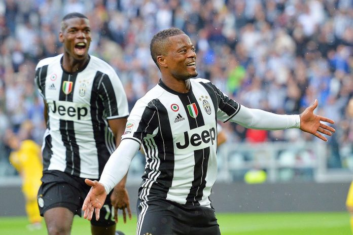 Crystal Palace set to sign Patrice Evra from Juventus