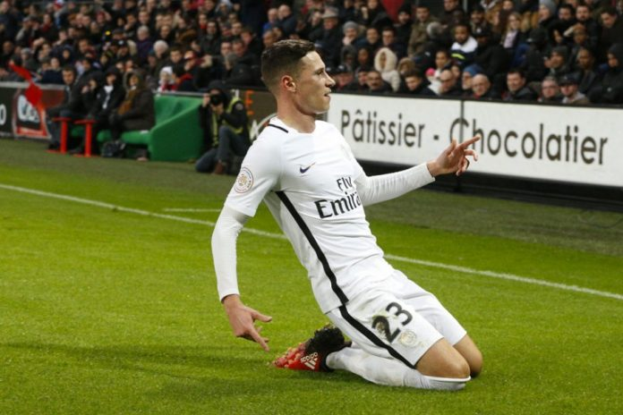 Julian Draxler scored on his PSG debut.