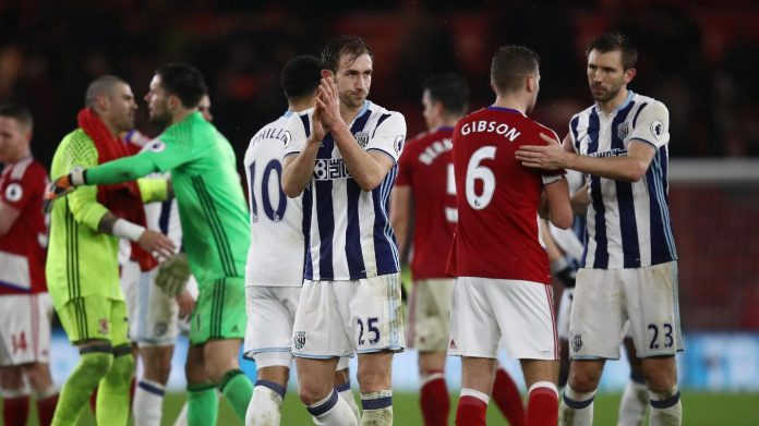 West Brom Middlesbrough