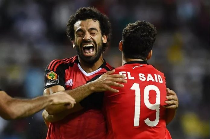 Salah has scored two goals in AFCON 2017.