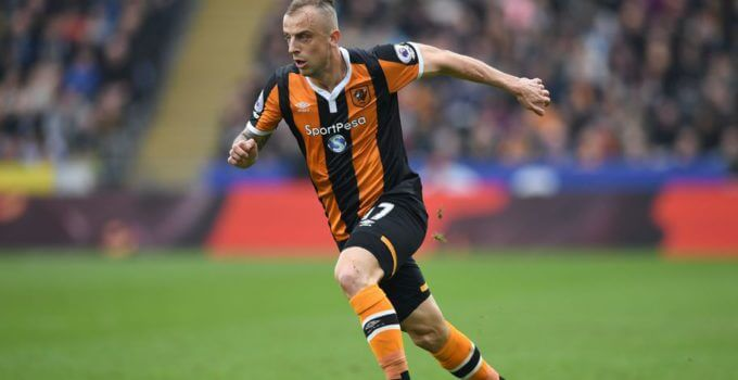 Hull City's Polish midfielder Kamil Grosicki