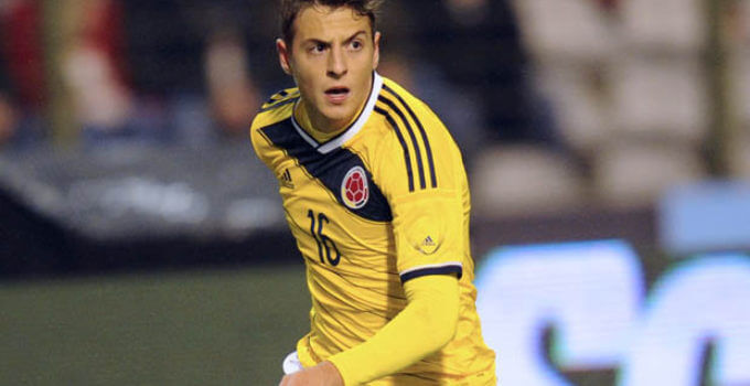 Colombia international Santiago Arias