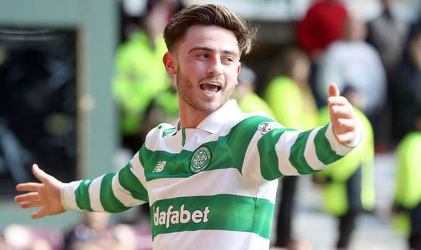 Celtic attacker Patrick Roberts