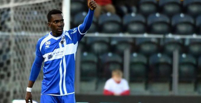 AS Eupen striker Henry Onyekuru