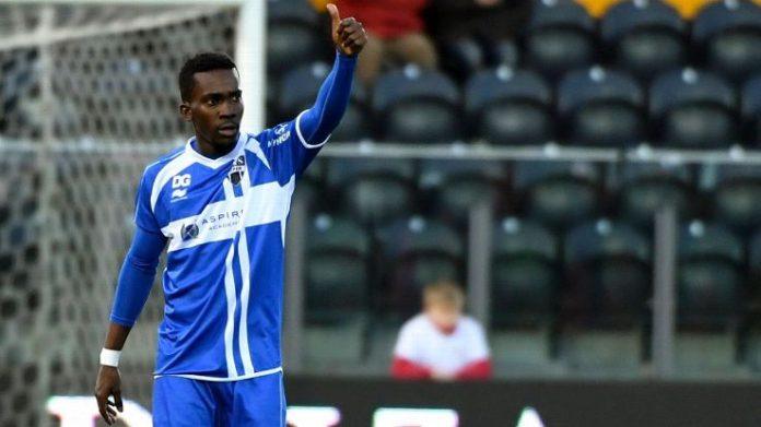 AS Eupen striker Henry Onyekuru