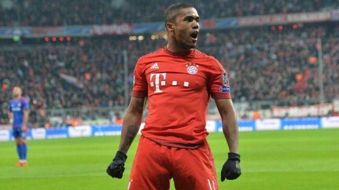 Bayern Munich winger Douglas Costa