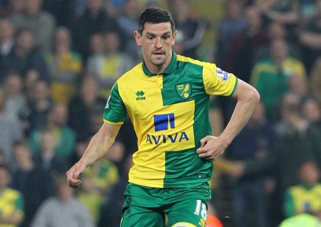 Norwich City midfielder Graham Dorrans