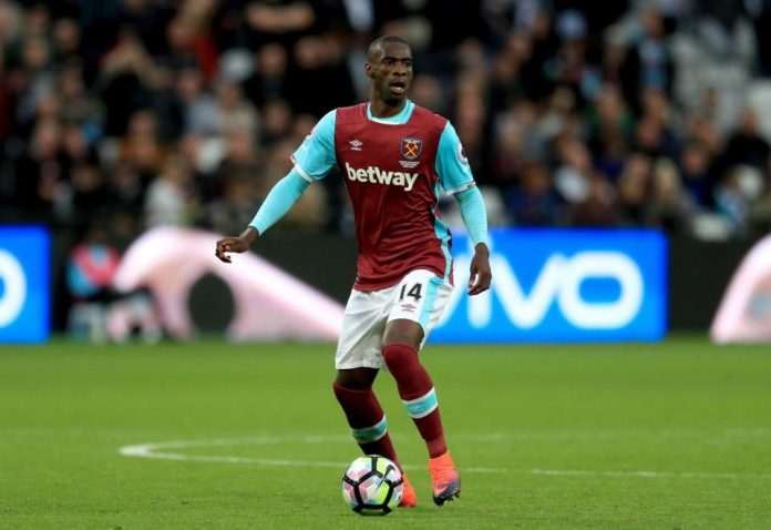 West Ham United midfielder Pedro Obiang