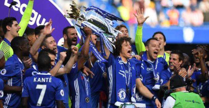 Chelsea 2016-17 Premier League champions