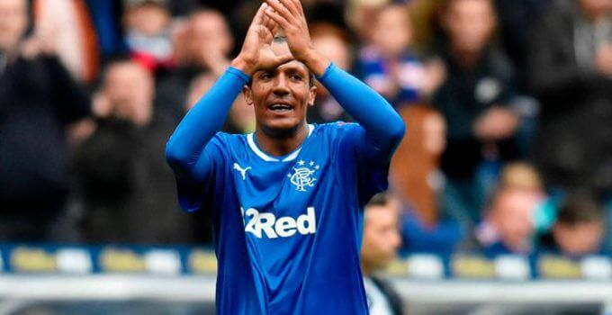 Rangers defender Bruno Alves
