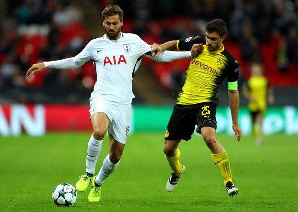 Tottenham Hotspur striker Fernando Llorente
