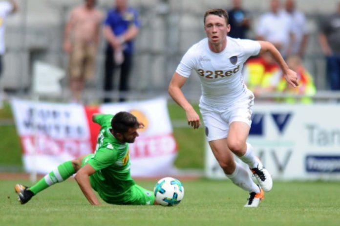 Leeds United defender Matthew Pennington