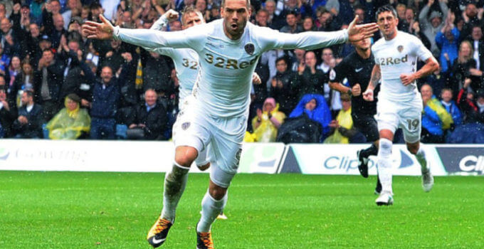Leeds United striker Pierre-Michel Lasogga