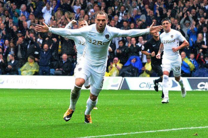 Leeds United striker Pierre-Michel Lasogga