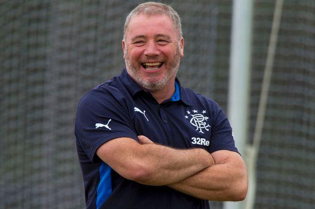 Glasgow Rangers former manager Ally McCoist