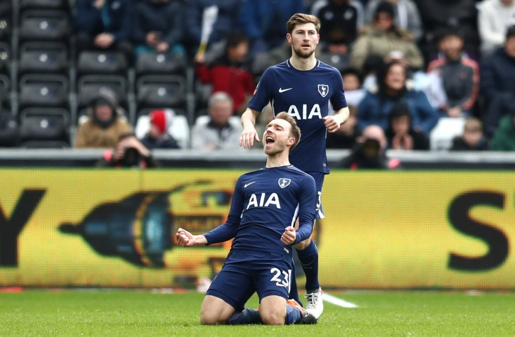 Tottenham Hotspur want £22m for Christian Eriksen