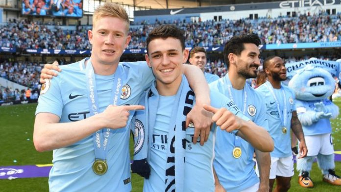 Newcastle United teen Elias Sorensen impressed with Manchester Metropolis's Phil Foden 3