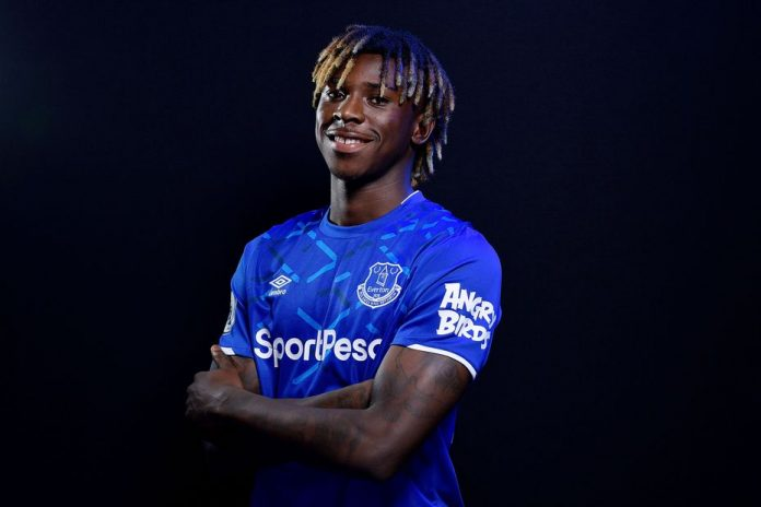 PSG sign Moise Kean on loan from Everton
