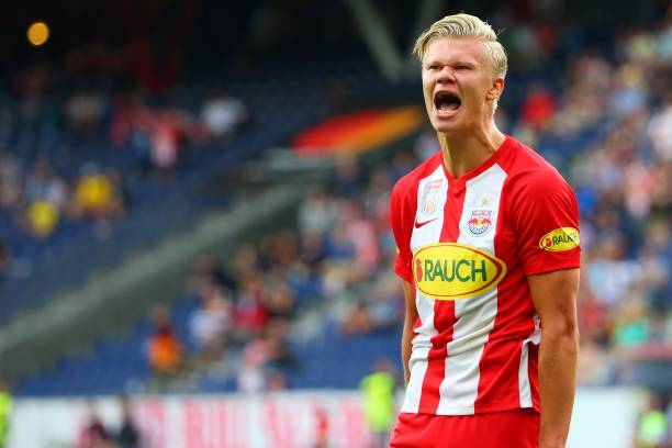 Champions League: Haaland bags hat-trick as Salzburg thrash Genk 6-2