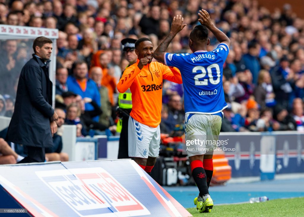 Gerrard and Morelos win manager and player of the month awards