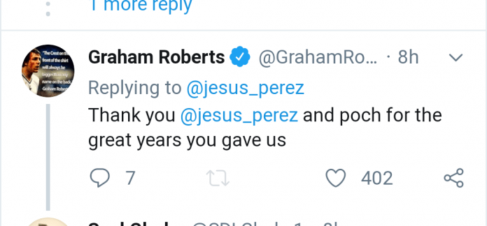 Screenshot 20191120 082752 - Tottenham Hotspur legend Graham Roberts sends message to Mauricio Pochettino