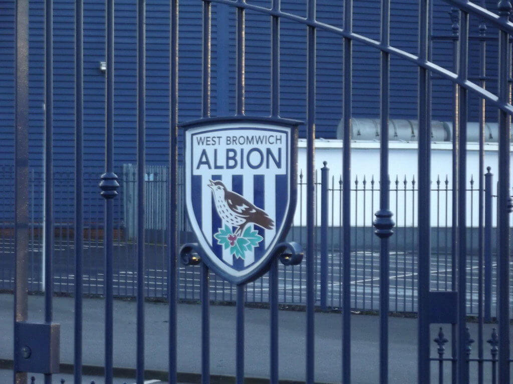 Some West Brom fans send messages to Leeds United after tonight's win