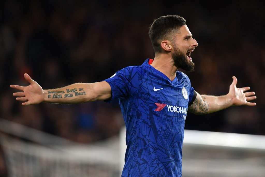 Olivier Giroud could be allowed to leave Chelsea in January