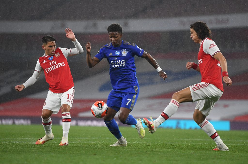 Leicester defeat at Spurs boosts Man Utd Champions League prospects