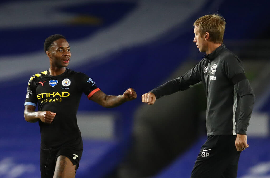 Gary Lineker raves about Manchester City winger Raheem Sterling